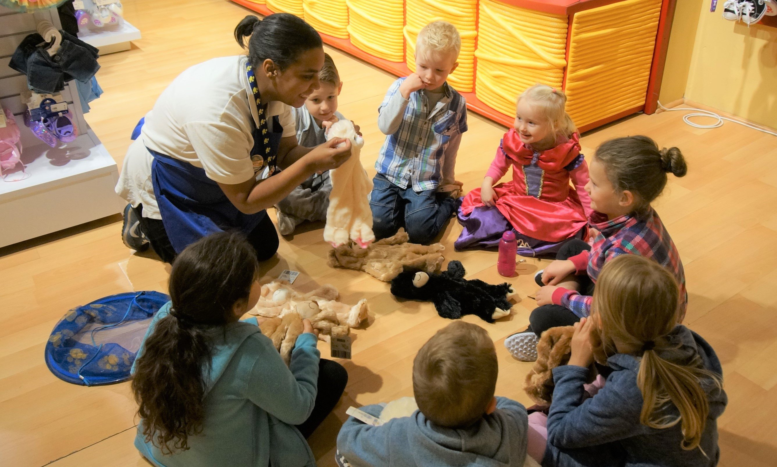 Indoor party inspiration: Try Build-A-Bear Workshops