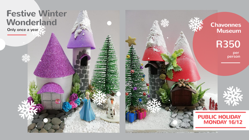 Winter Wonderland Workshop with Make it Magical | Cape Town | Things to do With Kids