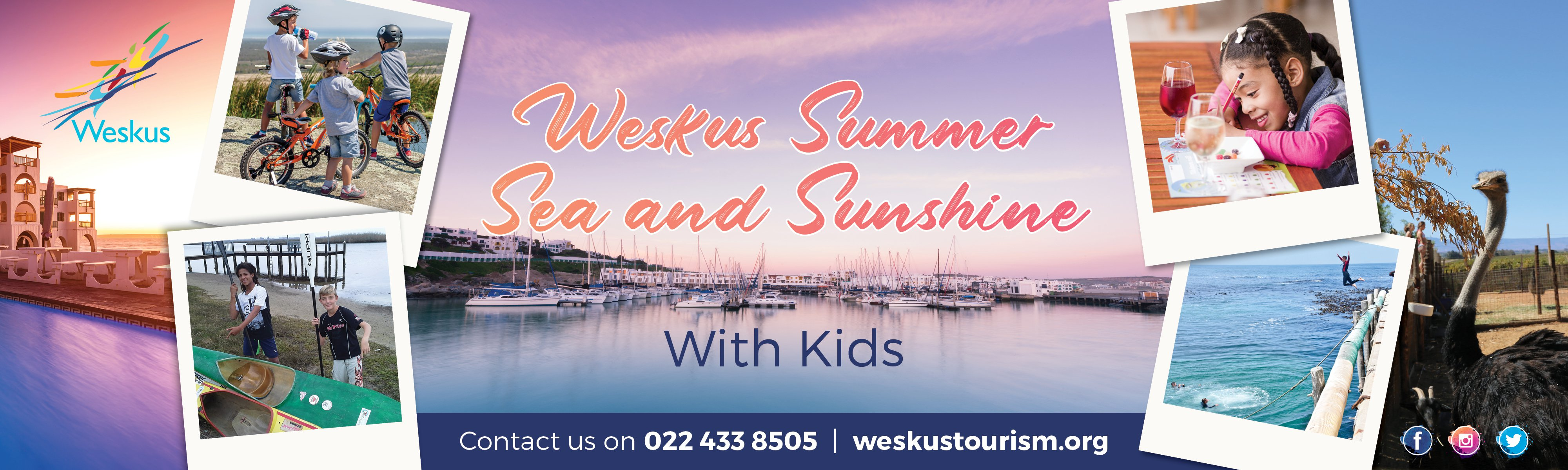 Weskus summer, sea and sunshine- with kids!