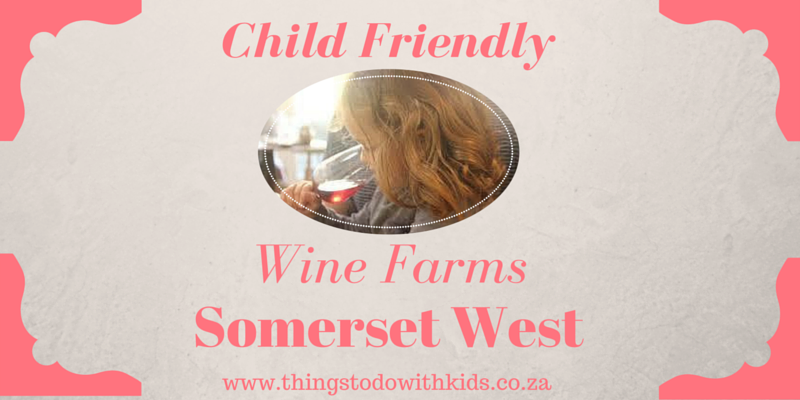 Wine farms: Helderberg and Somerset West