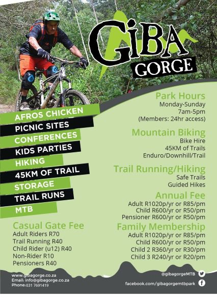 Giba Gorge | Durban | Kids activities and excursions