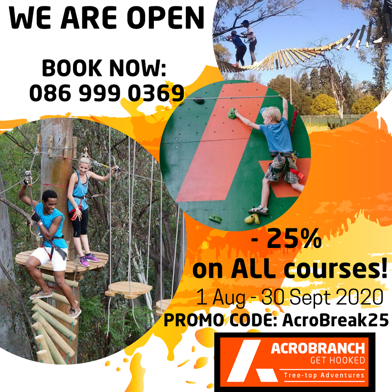 Acrobranch Garden Route | Kids Party Venue
