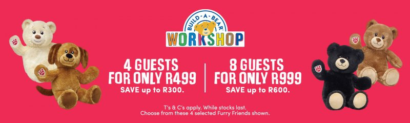 Build A Bear Party Discount