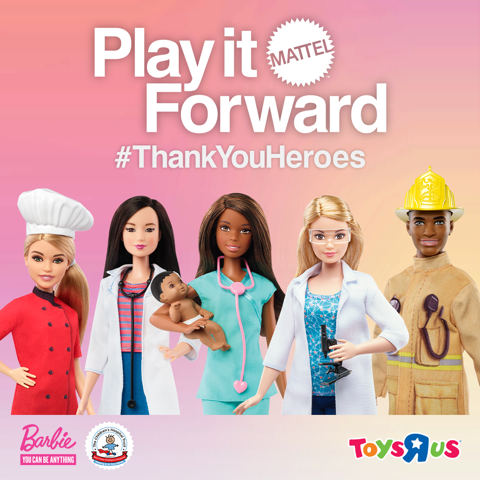 Mattel Unveils #ThankYouHeroes programme from Barbie®