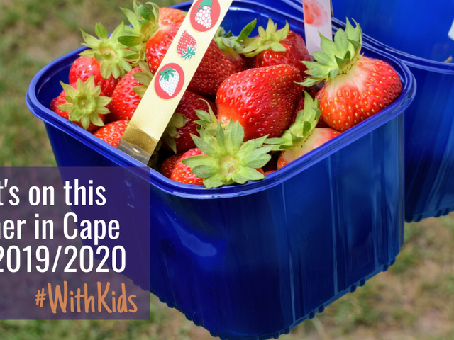 What's on for families in Cape Town this Summer 2020