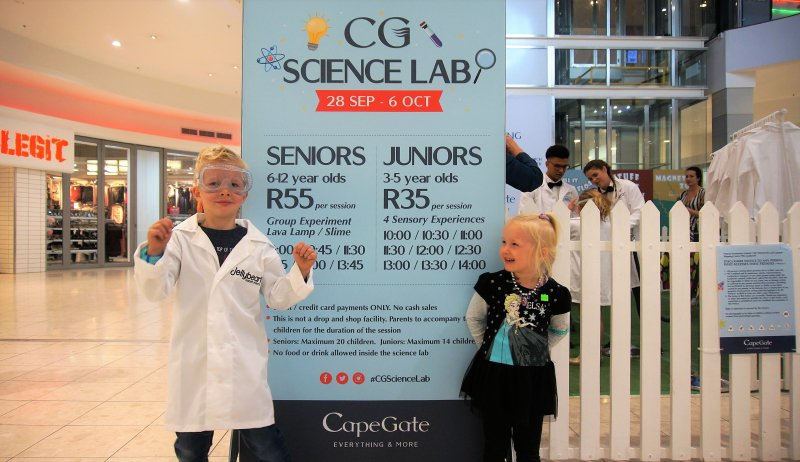 School holiday fun at Capegate | Science Workshop | Brackenfell | Things to do With Kids