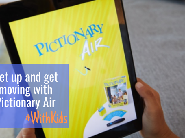 Get up and get moving with Pictionary Air