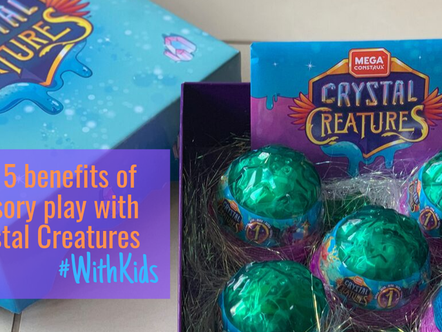 The 5 benefits of sensory play with Crystal Creatures