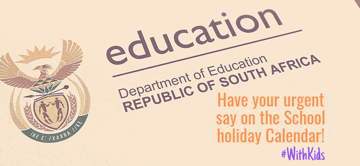 Have your urgent say on the School Holiday Calendar!