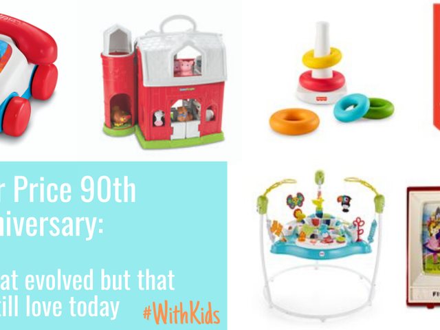 Fisher-Price turns 90 years young!