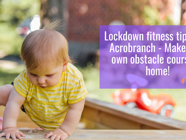 Lockdown fitness with Acrobranch