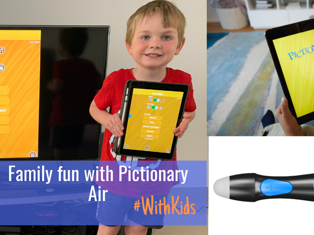 Family fun with Pictionary Air