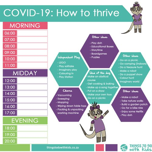 Covid-19 Daily planner