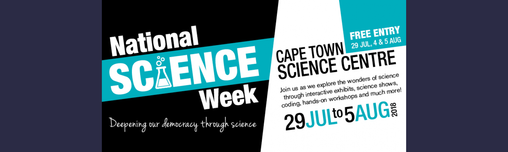 National Science Week | Cape Town Science Centre | Special Event