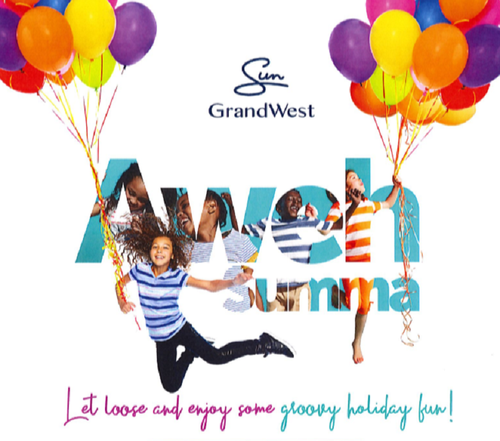 Groovy Holiday Fun at GrandWest | Cape Town | Things to do With Kids