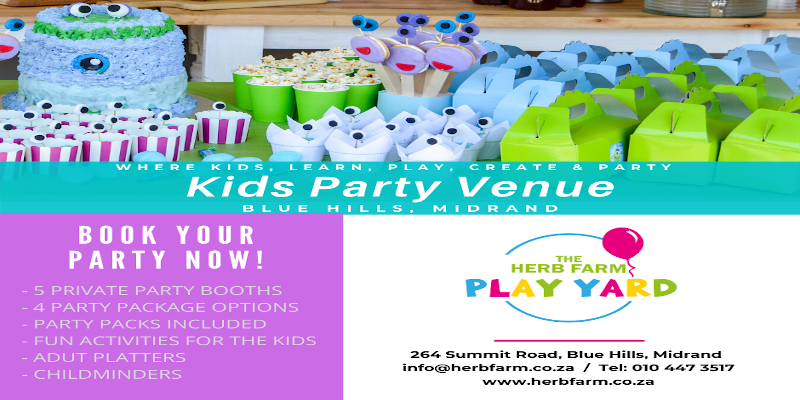 The Herb Farm | Kids Party Venues Johannesburg | Things to do WithKids