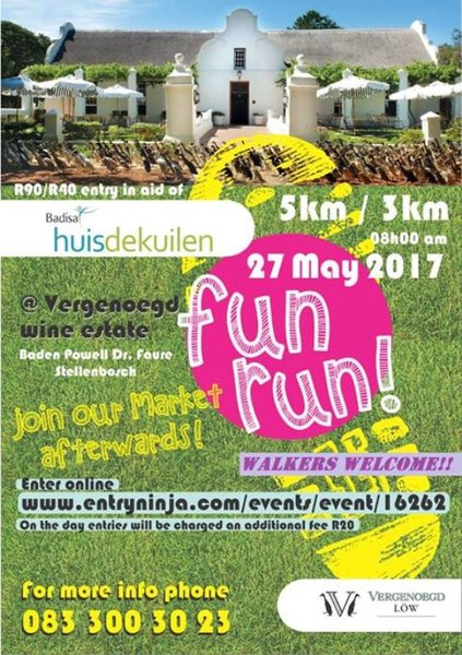 De Kuilen Family Run 2017 | Western Cape | Things to do With Kids