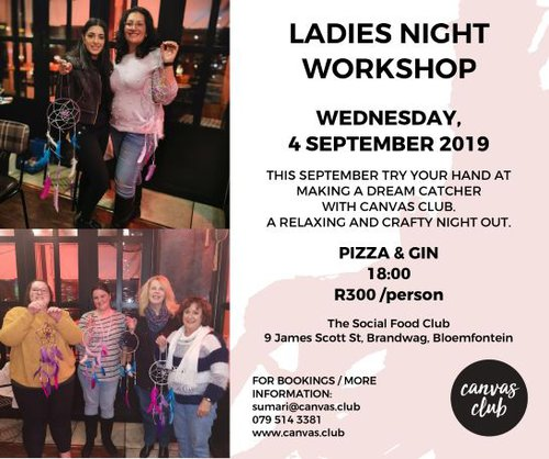 Ladies Night with Canvas Club | Bloemfontein | Things to do With Kids