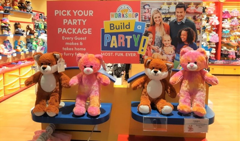 Build-A-Bear Workshop | Unique Kids Party Idea | Things to do With Kids