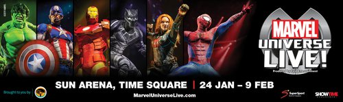 Marvel Universe Heads to SA | Pretoria | Shows | Things to do With Kids