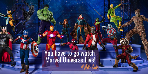 You have to go watch Marvel Universe Live!