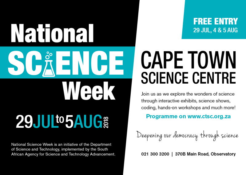 Natioinal Science Week Cape Town Science Centre | Things to do with kids