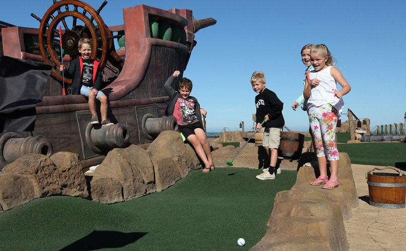 Pirate Adventure Golf | Family Fun Activity | Benguela Cove, Western Cape | Things to do With Kids