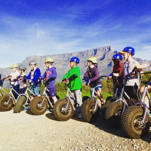 Scootours Cape Town | Family Adventure | Kids Parties