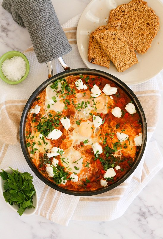 Nulaid Shakshuka with Goats Cheese | Recipe |Things to do With Kids