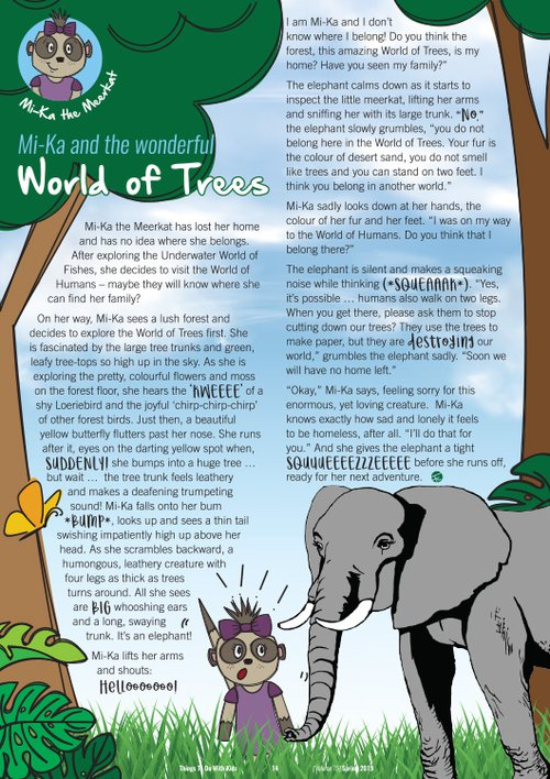 MIKA and the wonderful World Of Trees | Kids story | Things to do With Kids