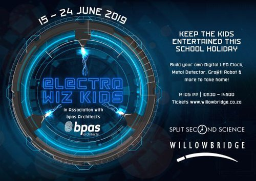 Electro Wiz Kids | Cape Town | Kids holiday event
