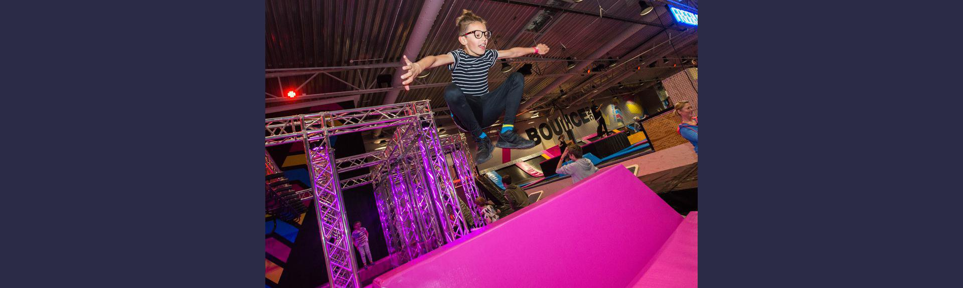 Bounce Indoor Trampoline Park | Waterfall Lifestyle Centre | Midrand
