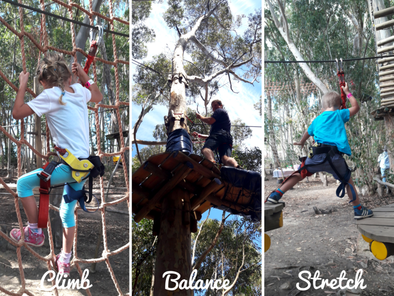 Child Friendly Active Activities + Adventures | Cape Town Acrobranch Zipline | With Kids