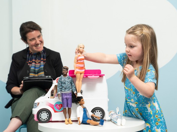 First of its kind research - Barbie benefits of doll play