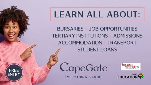 Career Expo at Capegate Shopping Centre | Cape Town | Things to do With Kids