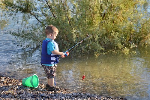 Fishing | Catch & Release | Things to do with Kids