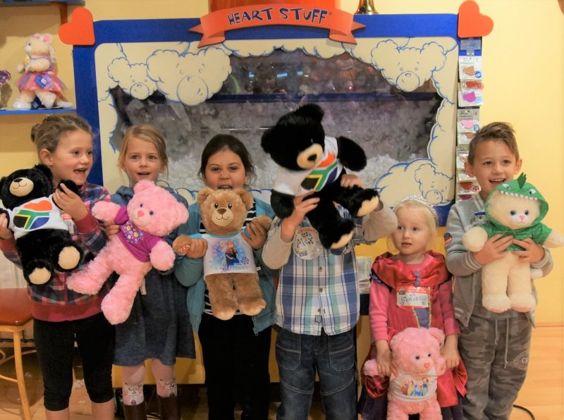 Build-A-Bear Workshop | Unique Indoor Party Idea | Cape Town | Things to do With Kids