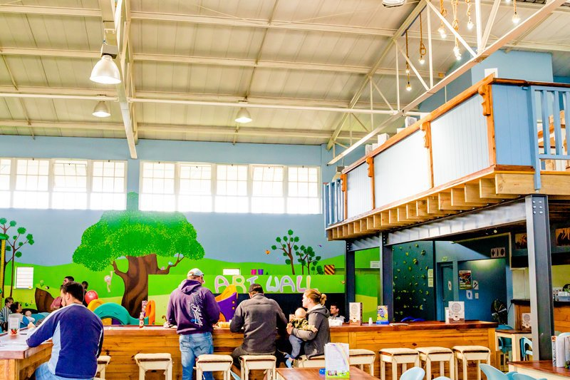 Family Friendly Restaurant + Play Centre George| Things to do With Kids