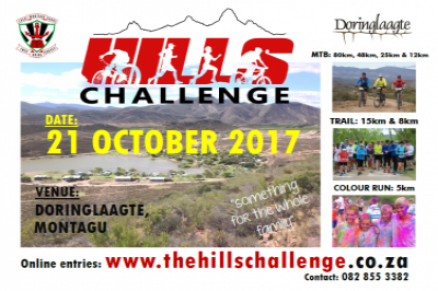 Hills Challenge | Western Cape | Things to do With Kids