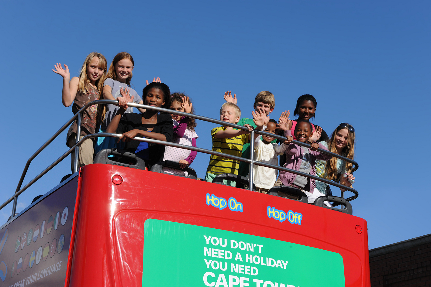 City Sightseeing family activity, kids free offer - Cape Town