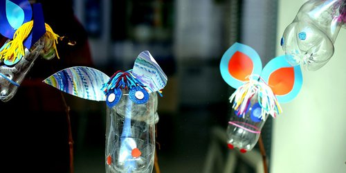 Water awareness - fun recycling crafts