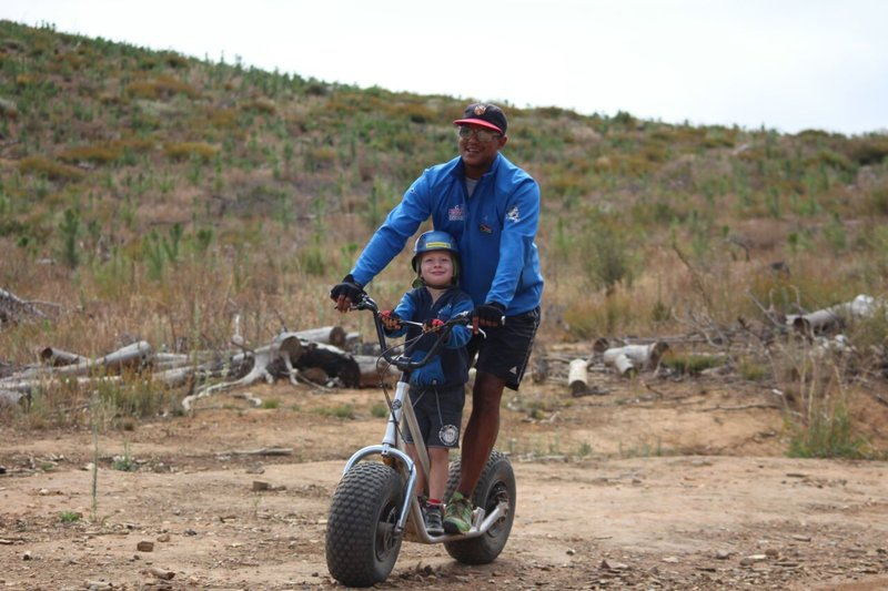 Scootours | Child - friendly Outdoor Adventure | Stellenbosch, Cape Town | Things to do With Kids