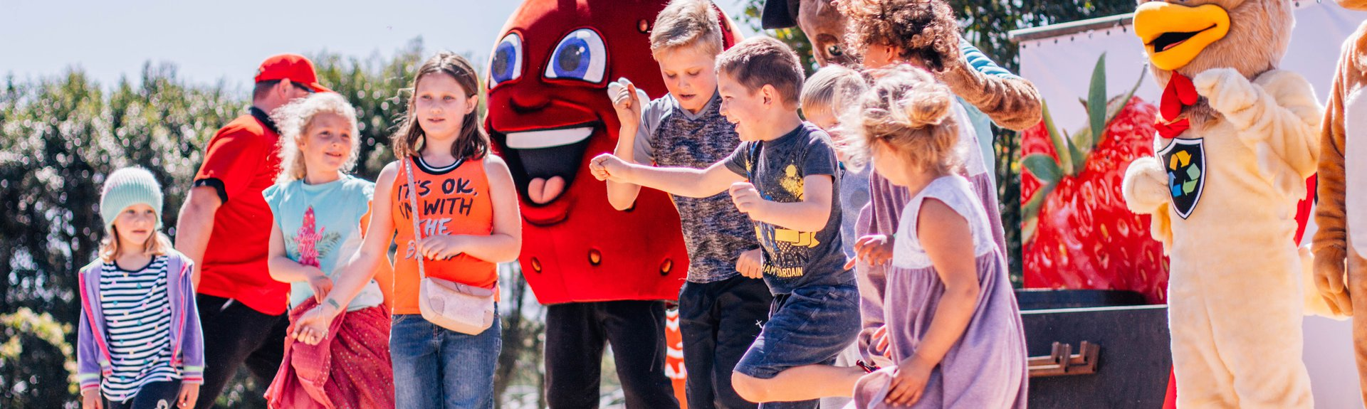 Strawberry Festival | Garden Route | Things to do With Kids