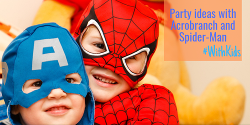 Party ideas with Acrobranch and Spider-Man to get you hooked