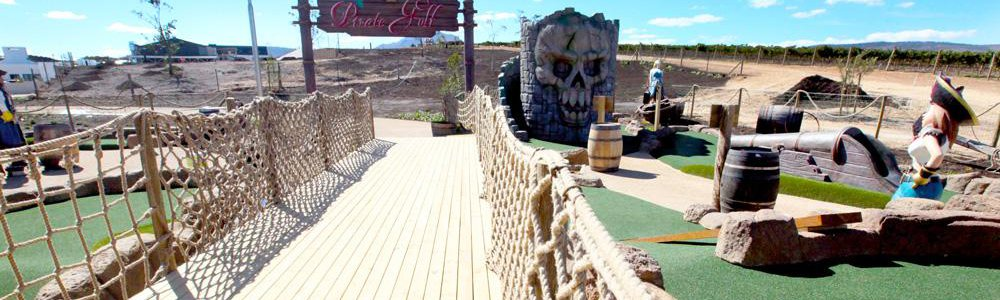 Pirate Adventure Golf | Family Fun Activity Kids Party Venue | Benguela Cove, Western Cape | Things to do With Kids