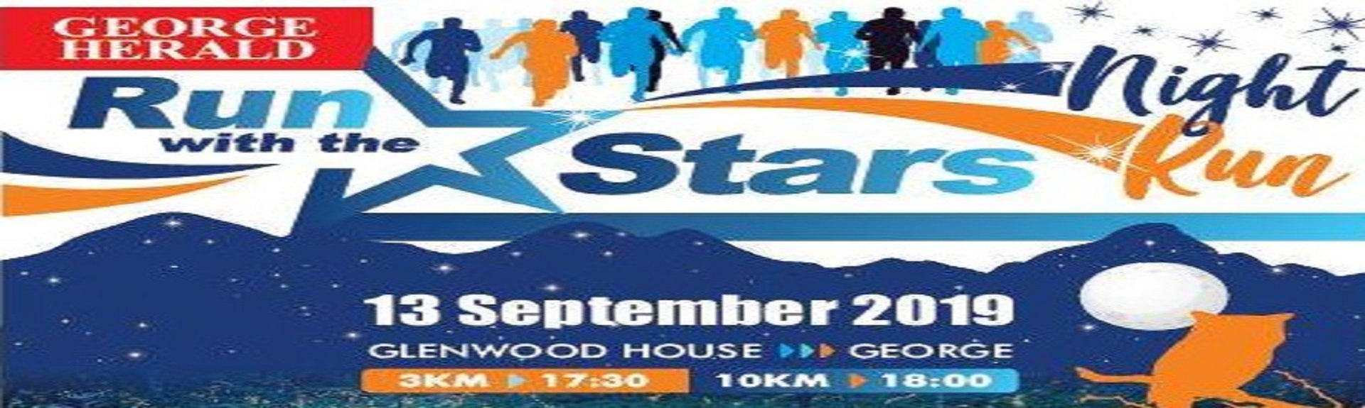 George Herald Run with the Stars night race | Garden Route | Things to do With Kids