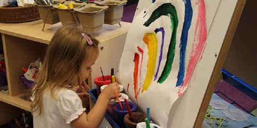 Arts & Crafts: Easy and affordable paint jamming idea to do with kids this holiday