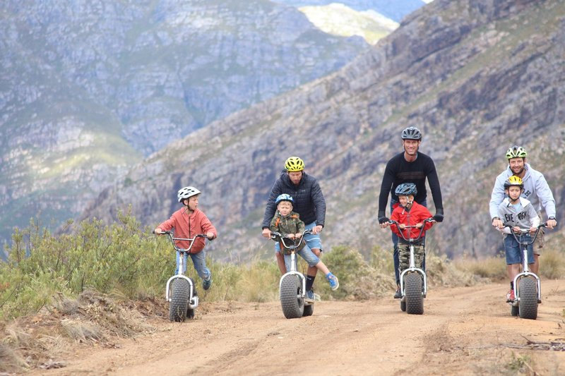Scootours | Family-Friendly Adventure Activity | Kids Party | Stellenbosch, Cape Town | Things to do With Kids