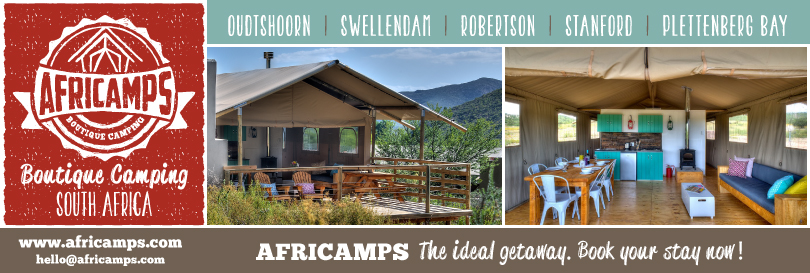 Win – Go *GLAMPING* with AfriCamps!