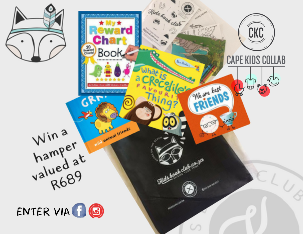 Win a Kidsbookclub hamper with Cape Kids Collab